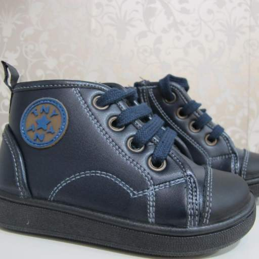 Botas azul marino Tinny shoes