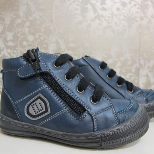 Botas azul Andanines