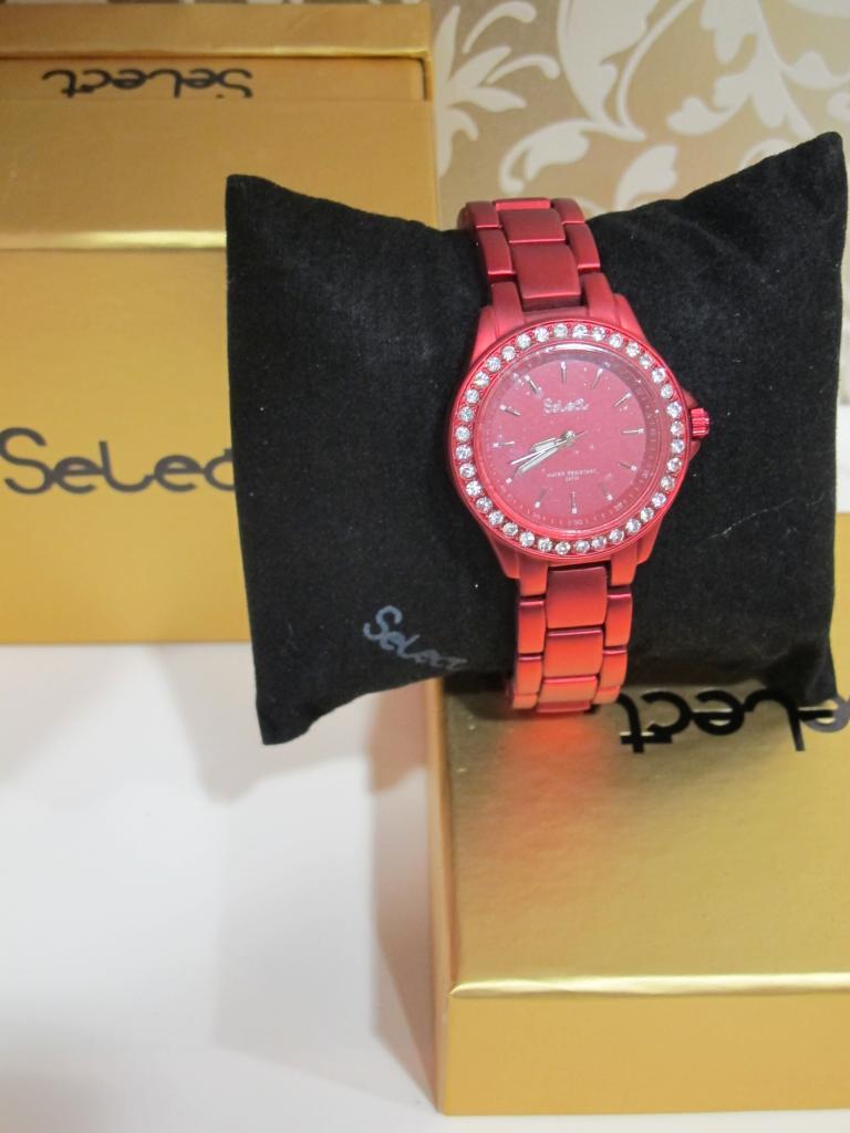 reloj rojo mujer Select