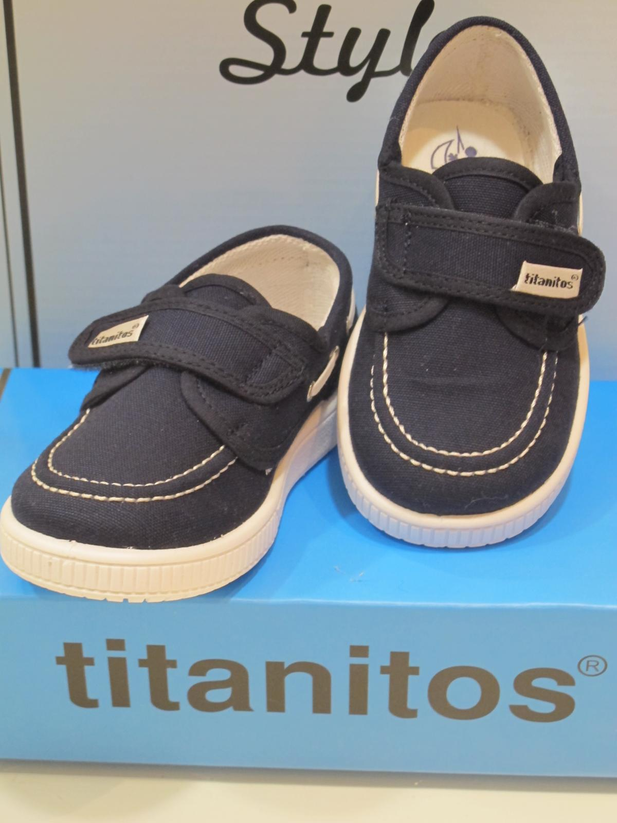 Lonetas azul Titanitos