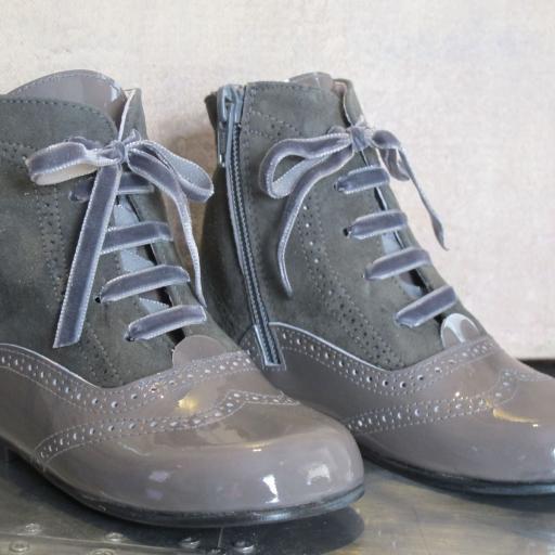 Botas charol /serraje Tinny Shoes [1]