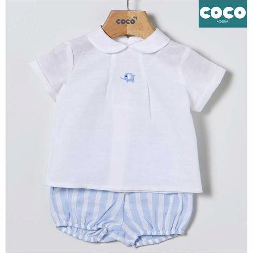 conjunto niño Coco Acqua
