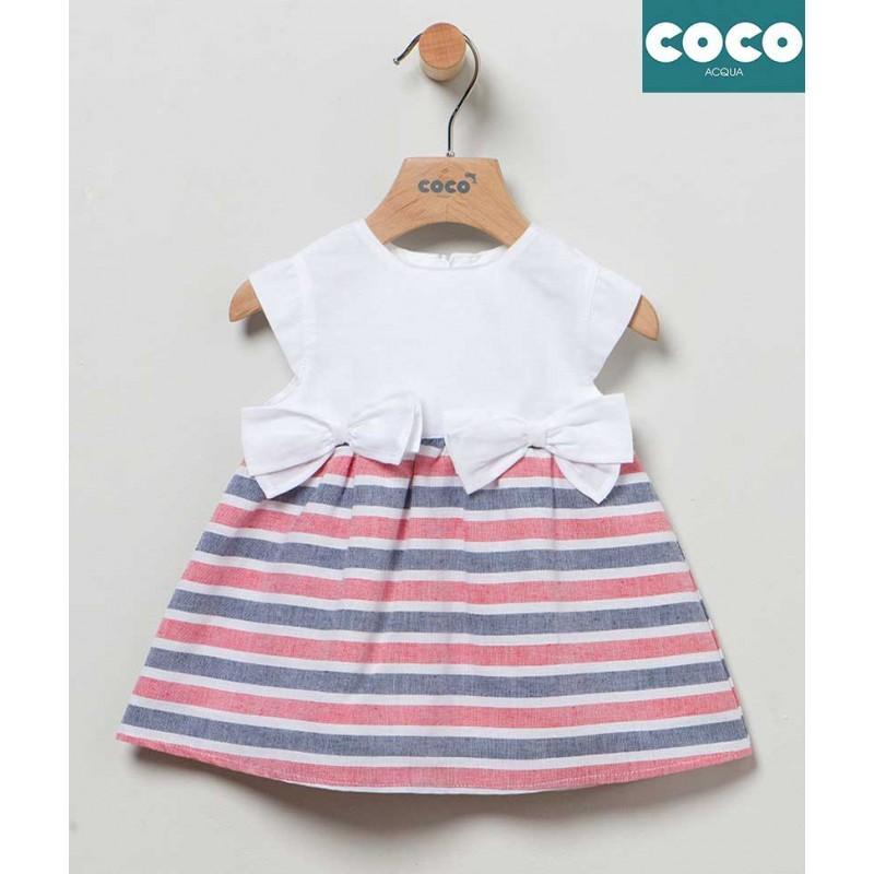 Vestido Rayas Coco Acqua