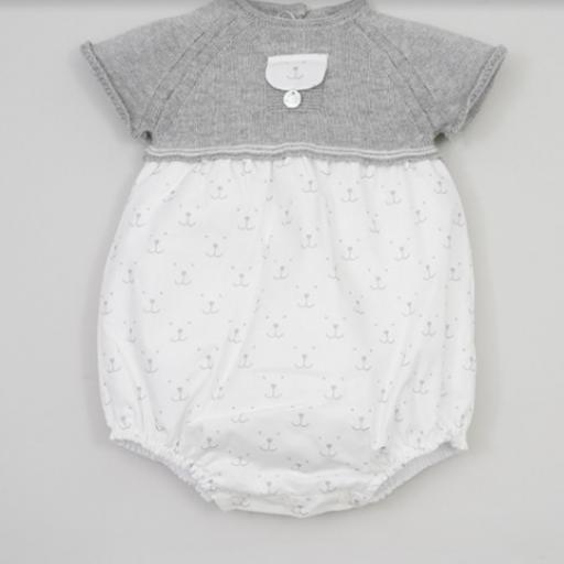 Pelele Bebé Carita Pangasa