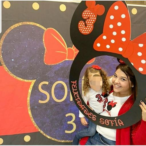 Marco de photocall Disney redondo [1]