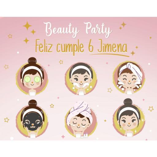 Fondo de mesa dulce Beauty Party [1]