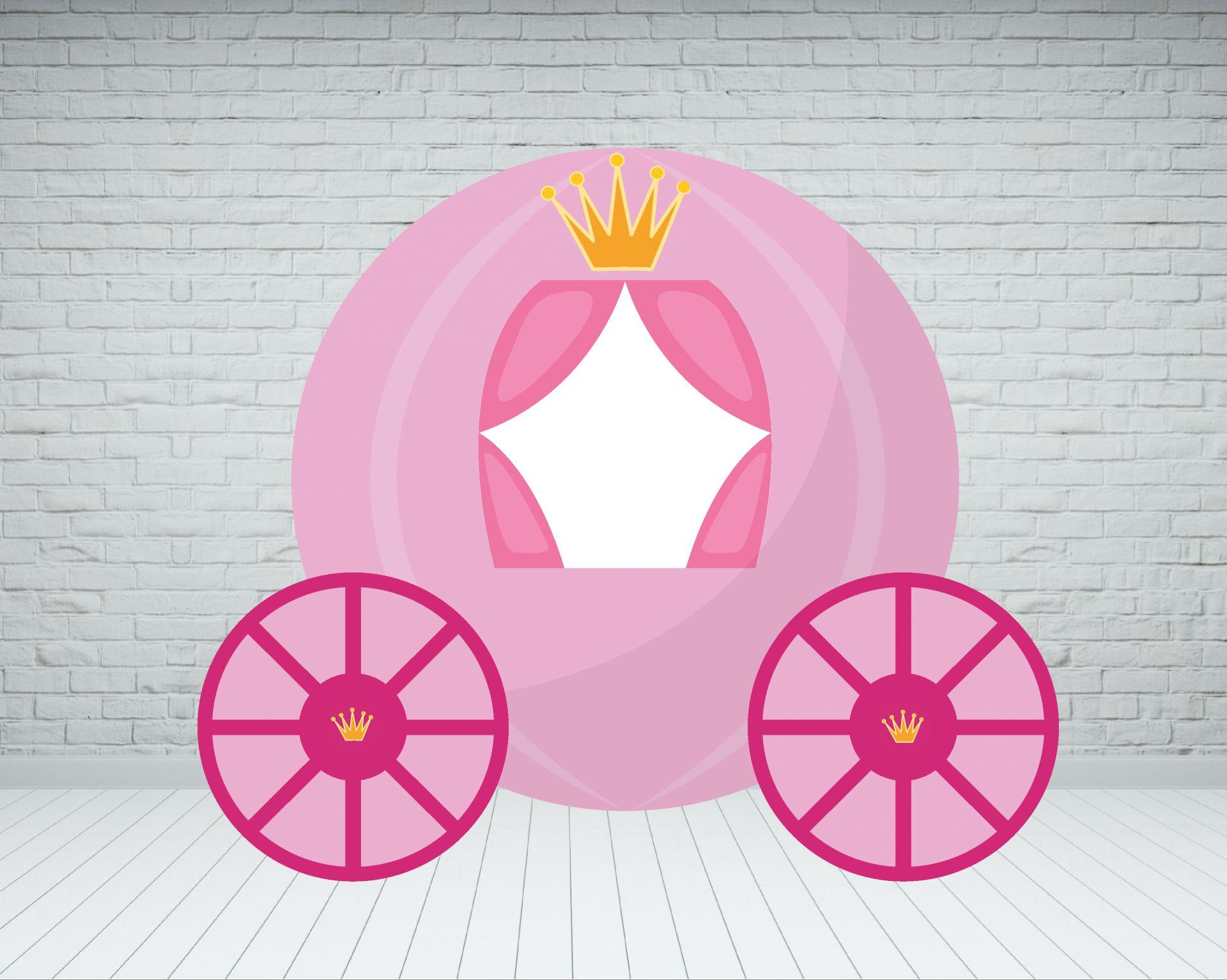 Carroza photocall de Princesa