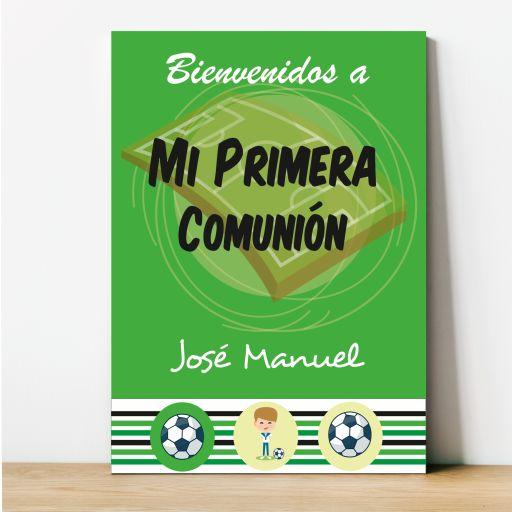 Cartel Primera Comunión Fútbol [0]