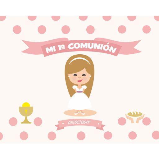 Fondo de mesa dulce Primera Comunión [1]