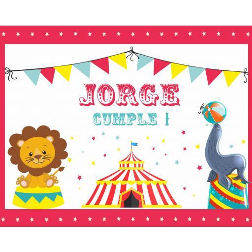 Fondo de mesa dulce circo infantil [1]