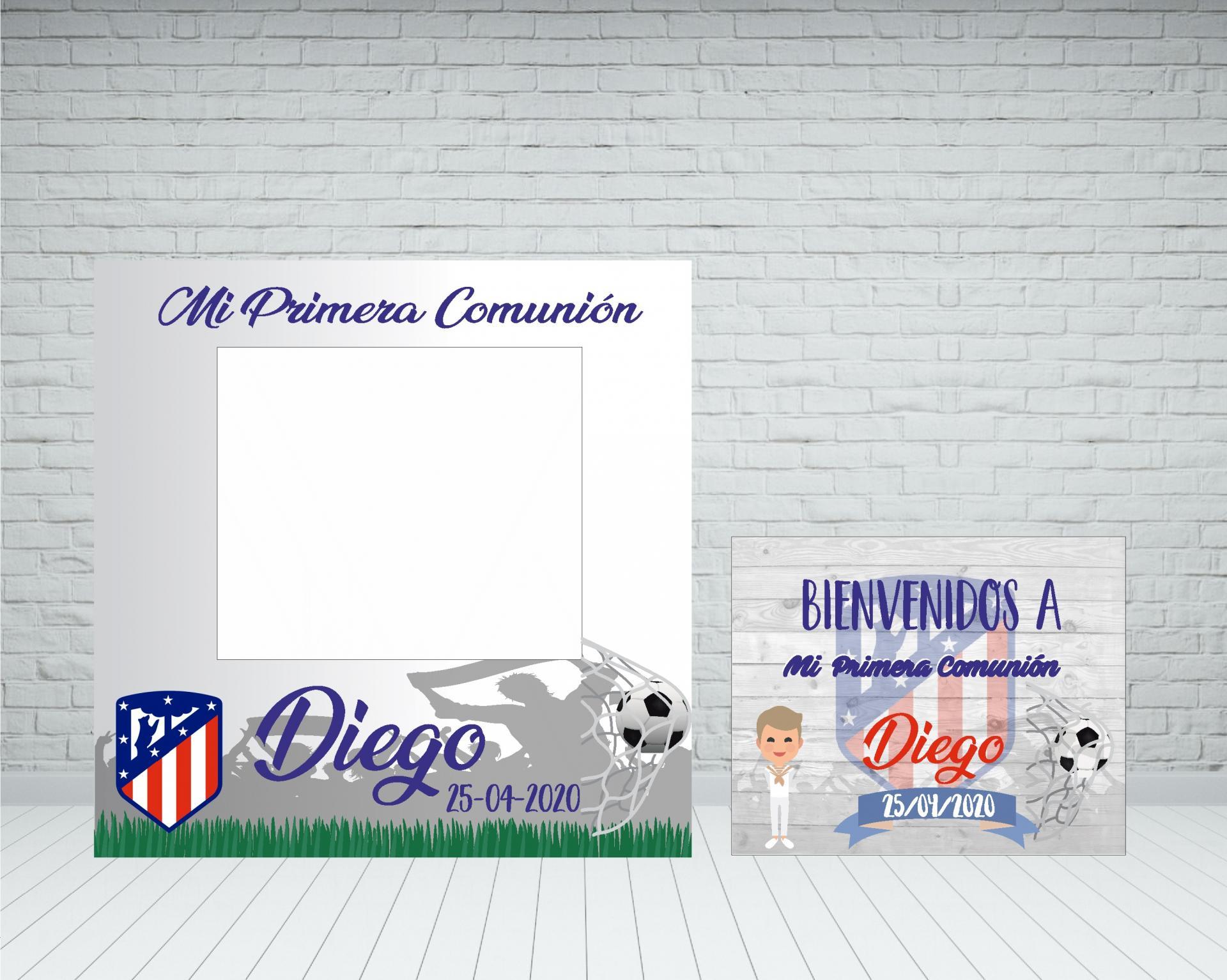 Marco fútbol Comunión