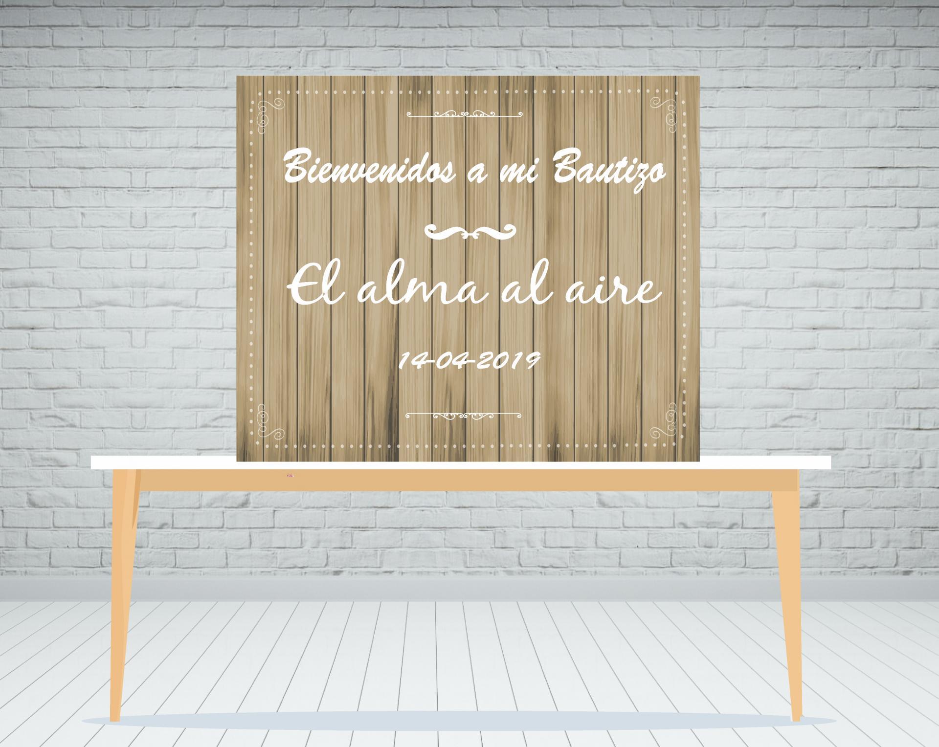 Fondo mesa dulce madera