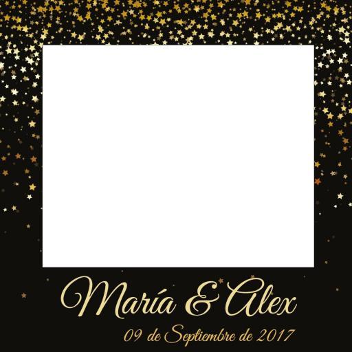 Marco photocall estrellas [2]