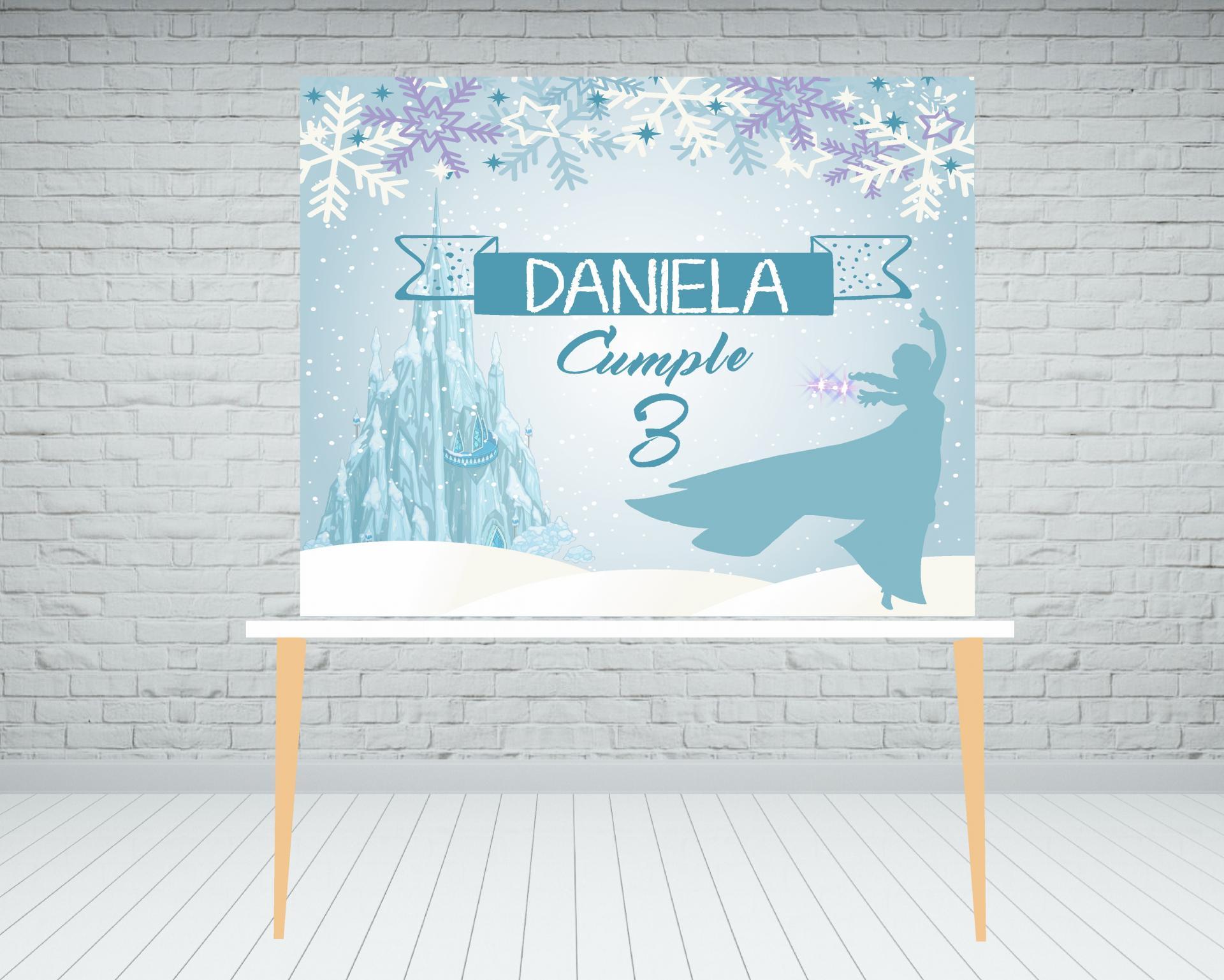 Fondo mesa dulce Frozen