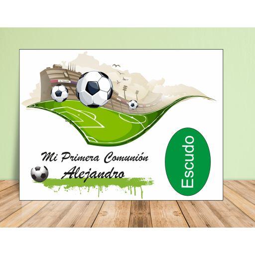 Fondo de mesa dulce Fútbol  [2]