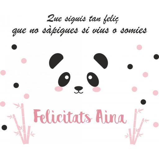 Fondo de mesa dulce Panda [2]