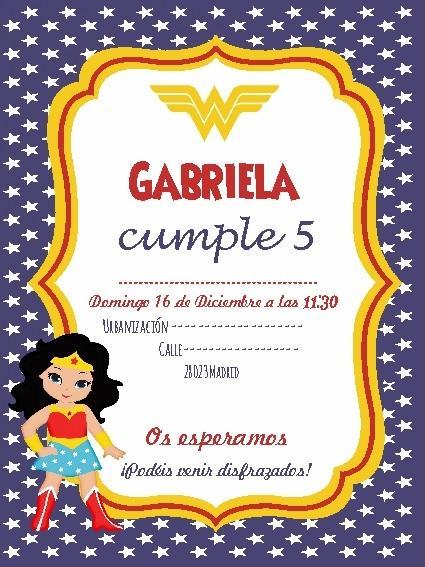 Invitación digital cumpleaños