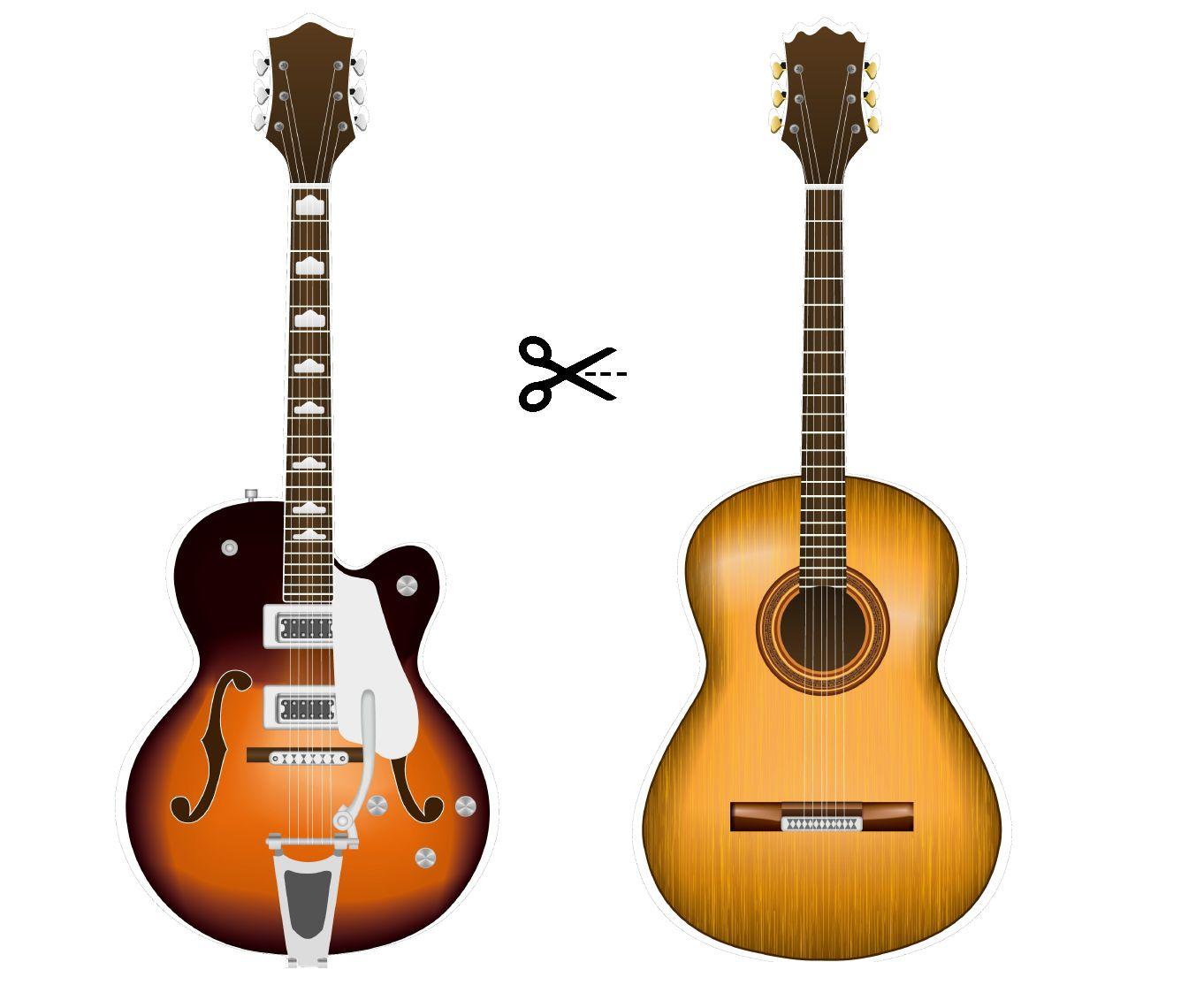 Pack de Guitarras Photocall