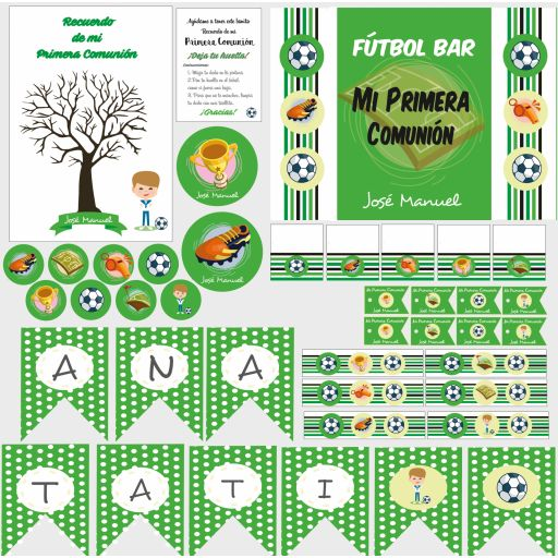 Party Kit digital Fútbol [1]