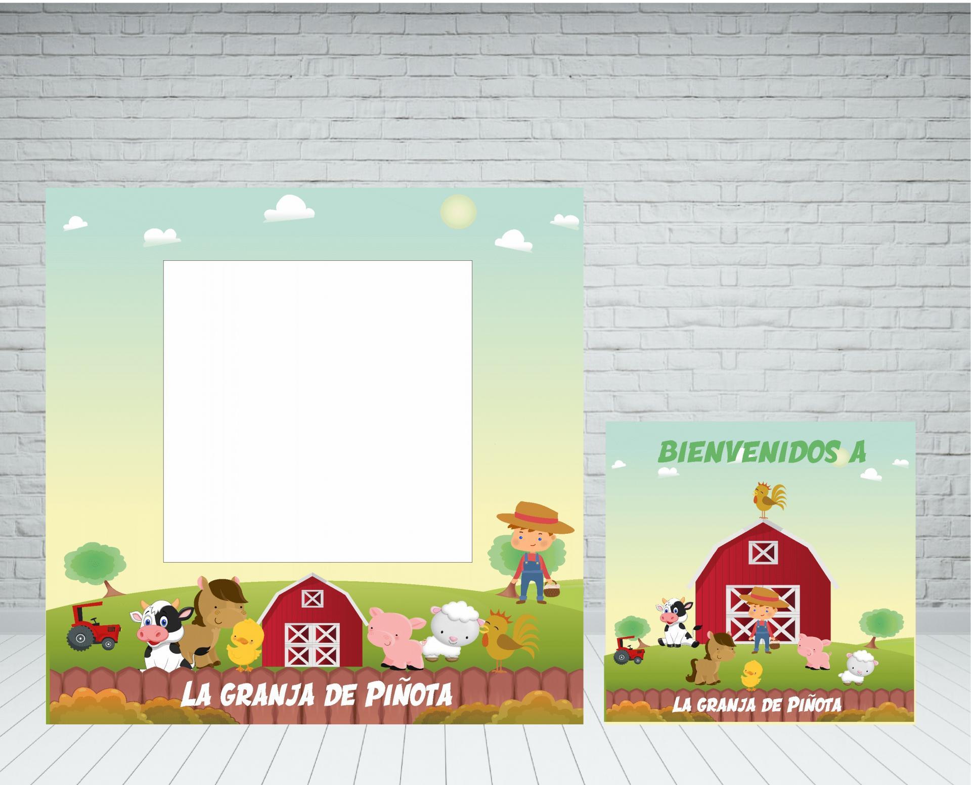 marco-photocall-granja-niño