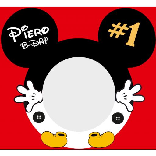 Marco de photocall Disney redondo [2]