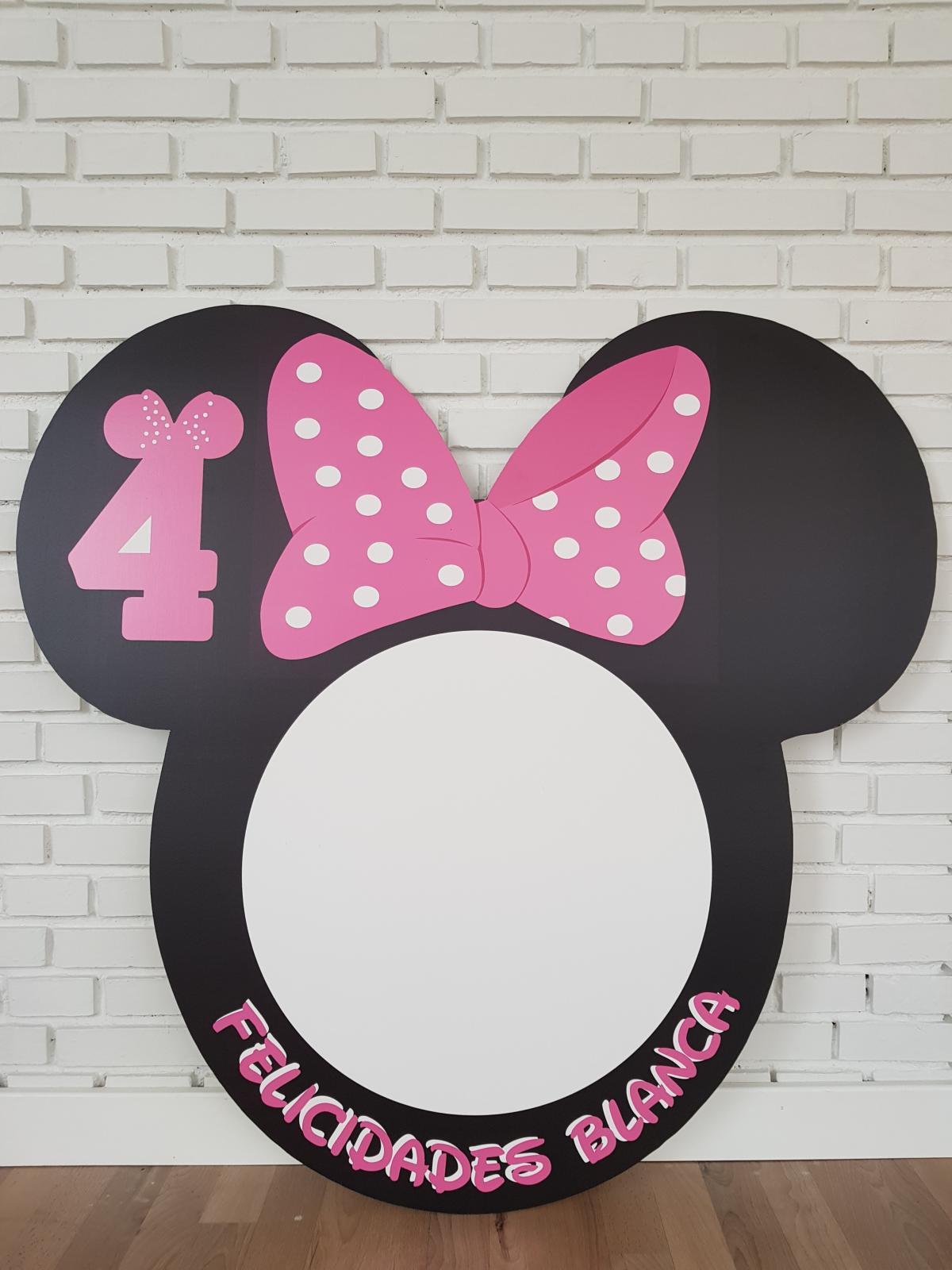 Marco de photocall Disney redondo