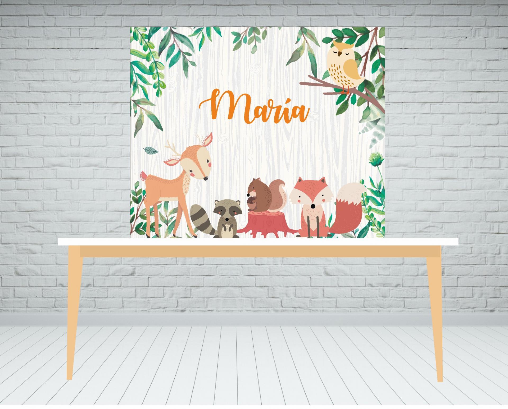 fondo-de-mesa-dulce-animales-del-bosque