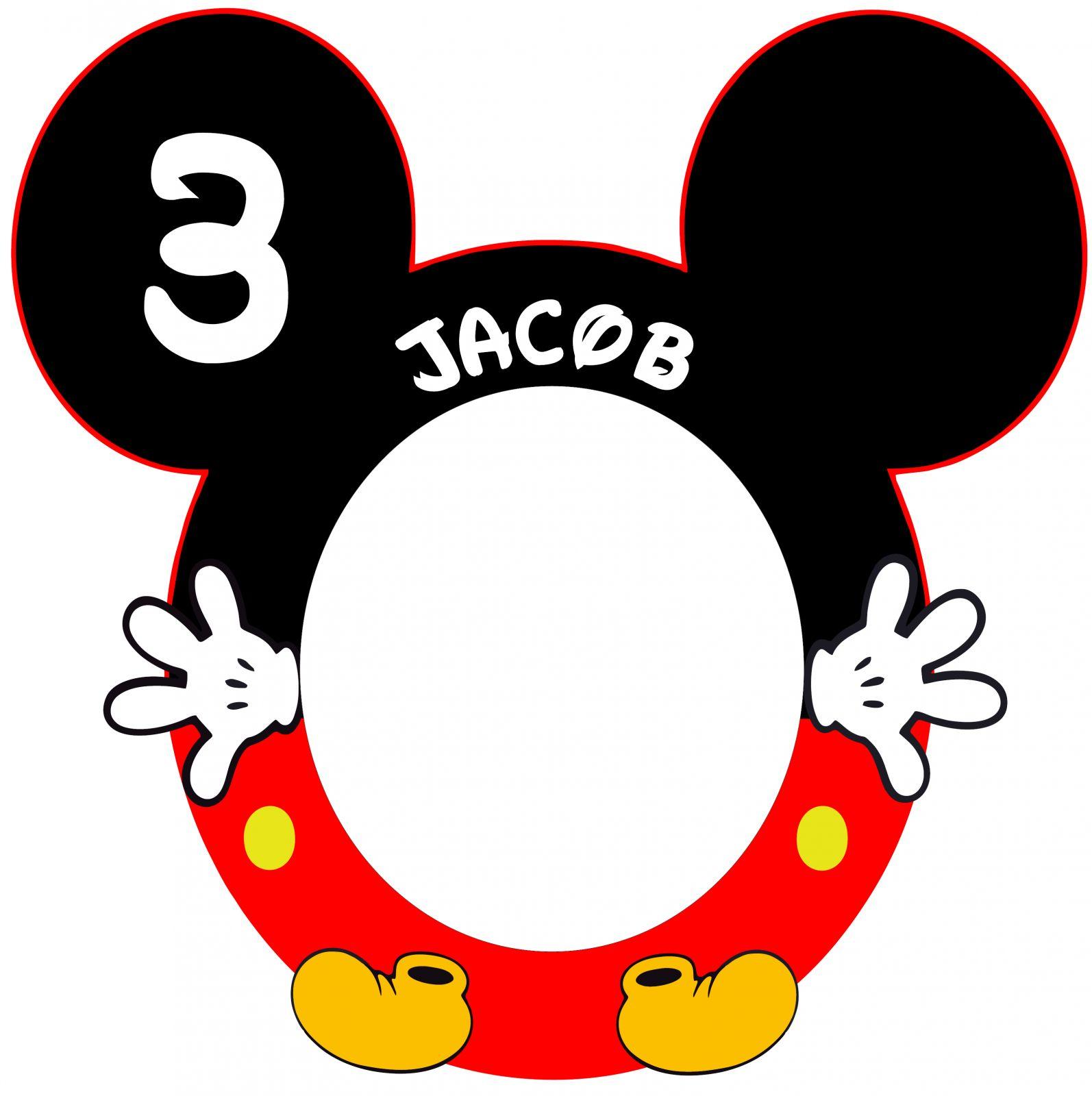 Marco de photocall Mickey