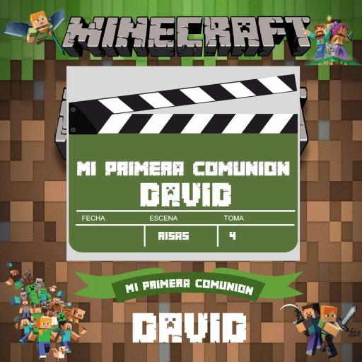 Marco de photocall Minecraft [1]
