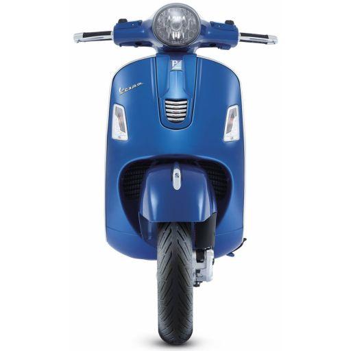 Moto Azul para Photocall
