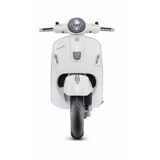 Moto Blanca para photocall