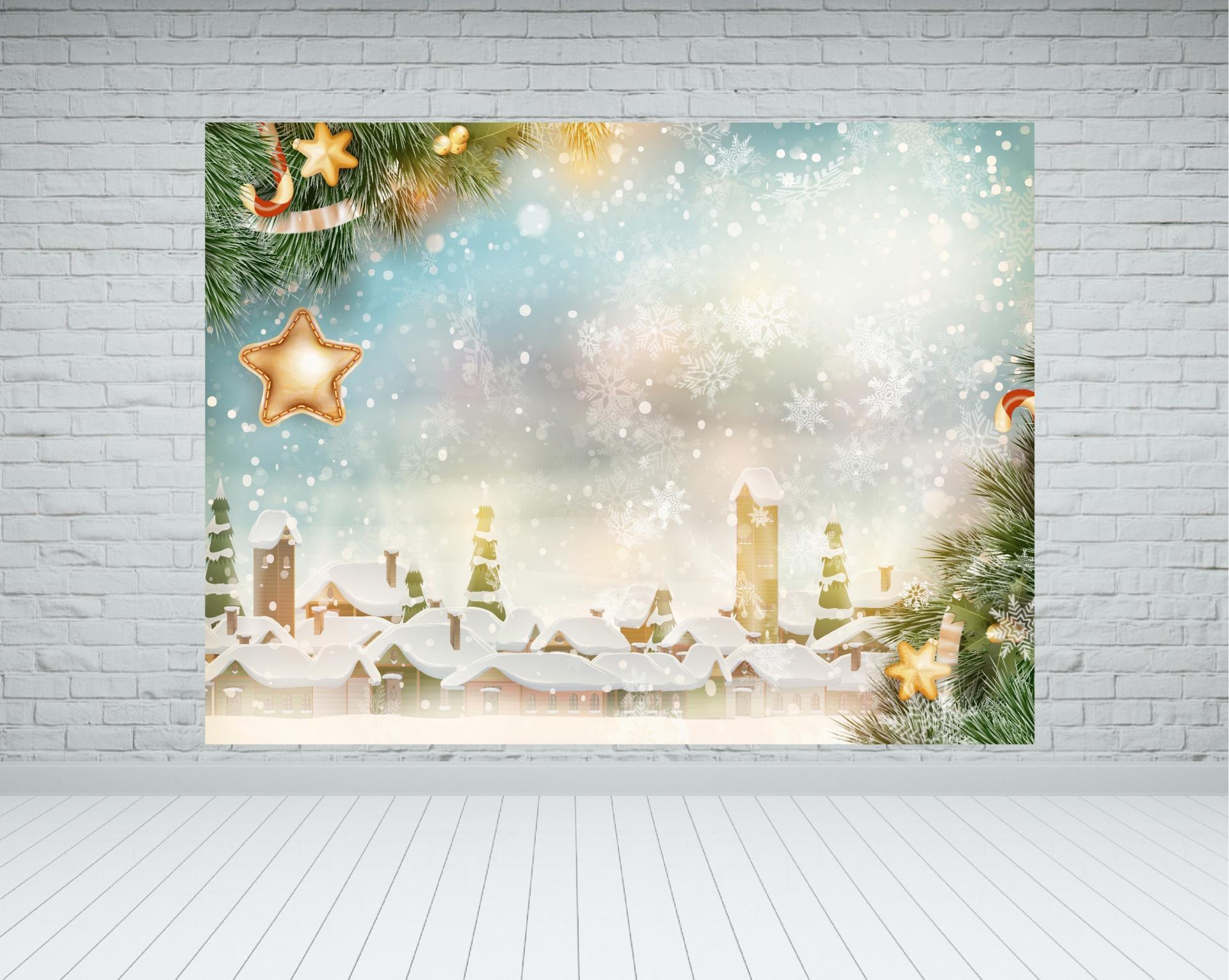 Fondo photocall Navidad