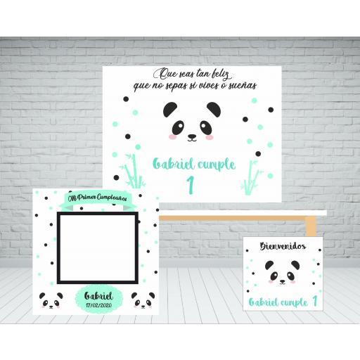 Pack panda photocall
