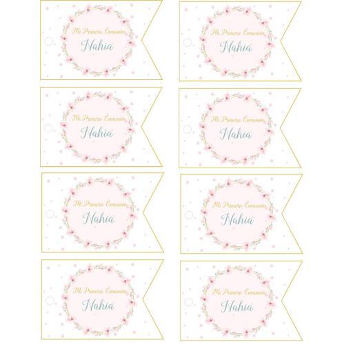 Party kit digital flores románticas [2]