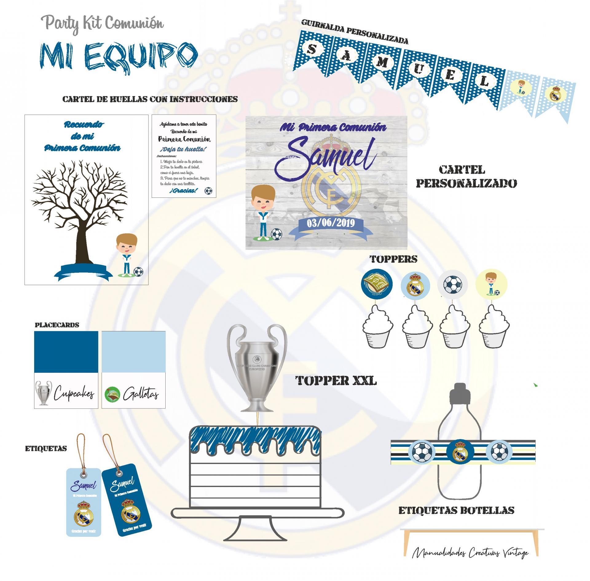 Party Kit digital Mi Equipo