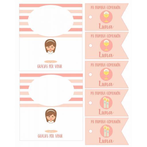 Party Kit digital Comunión niña [2]