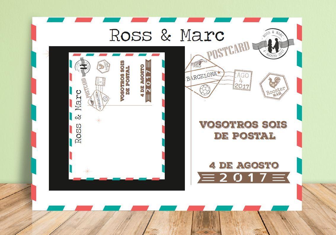 Marco photocall Postal