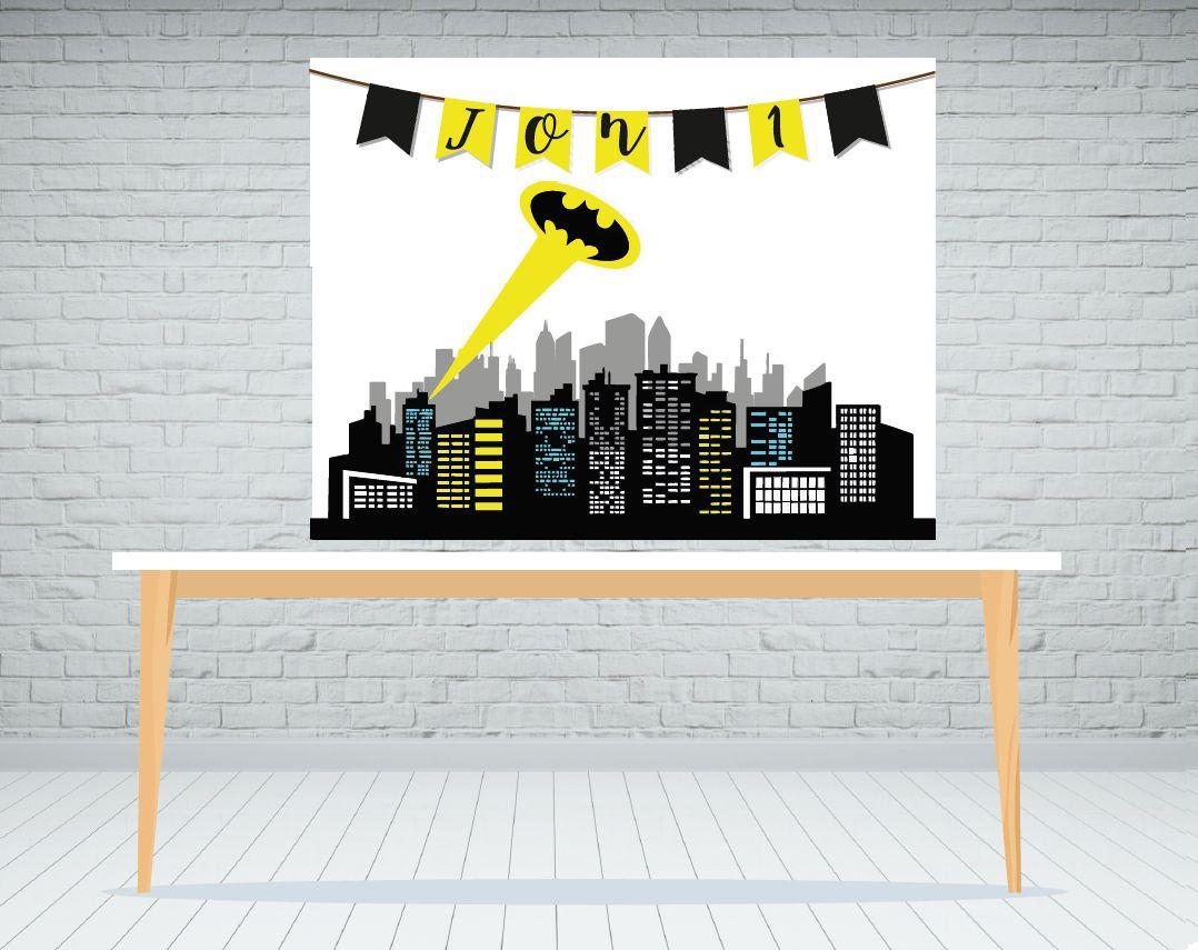 Fondo de mesa dulce Batman