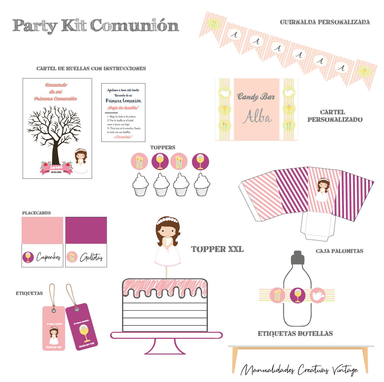 Party kit niña