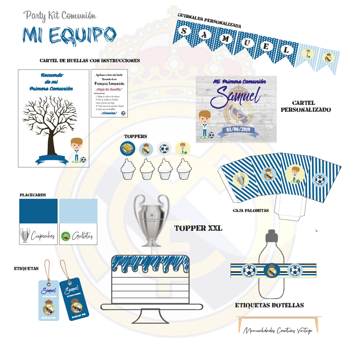 Party kit Real Madrid