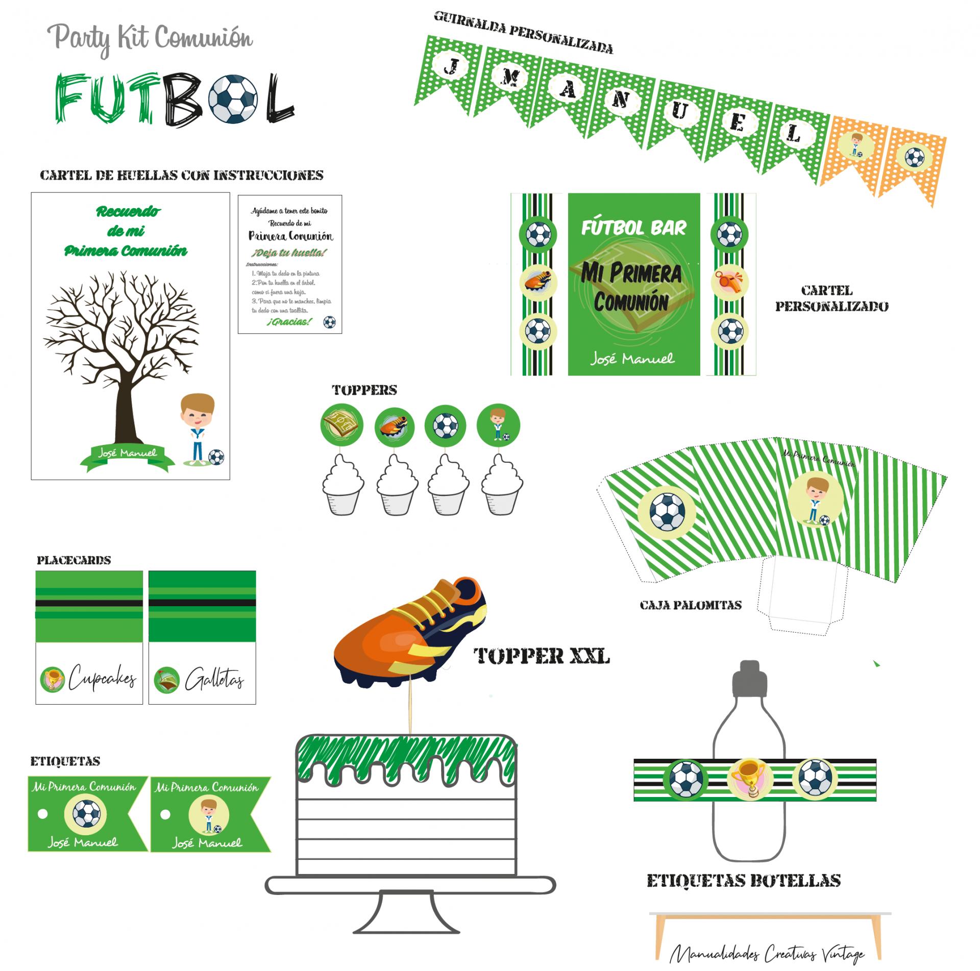 Party kit Futbol