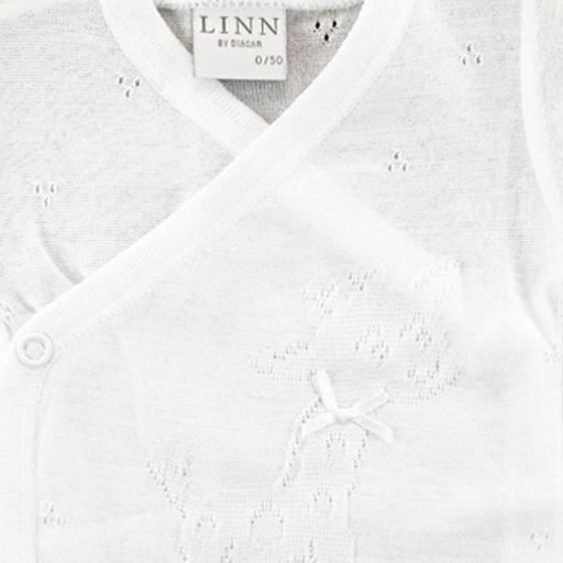 Body Natal blanco perle manga corta LINN-DIACAR [1]