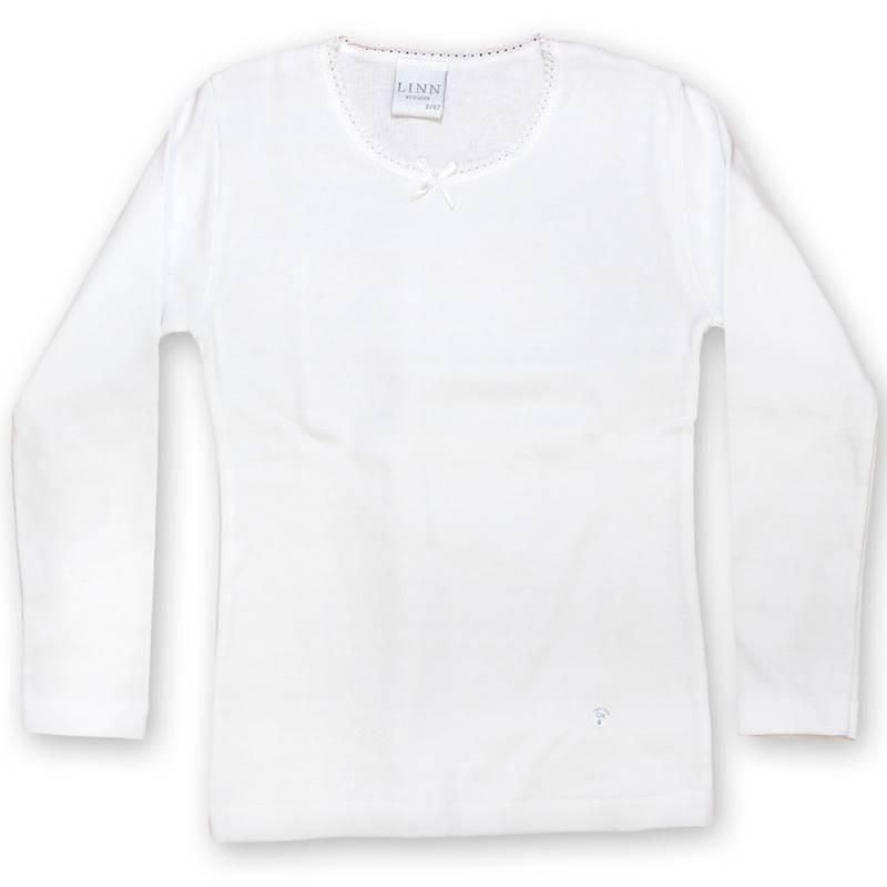 Camiseta niña manga interior manga larga DIACAR