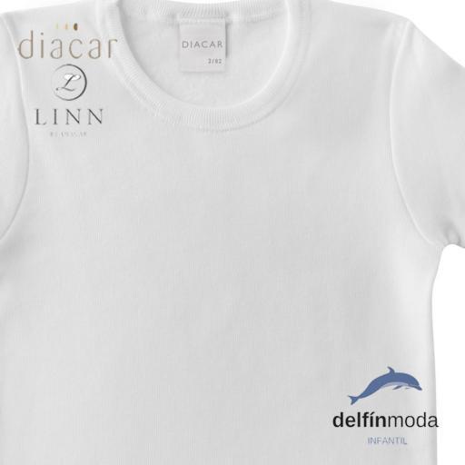 Camiseta niño interior lisa manga corta LINN-DIACAR  [1]