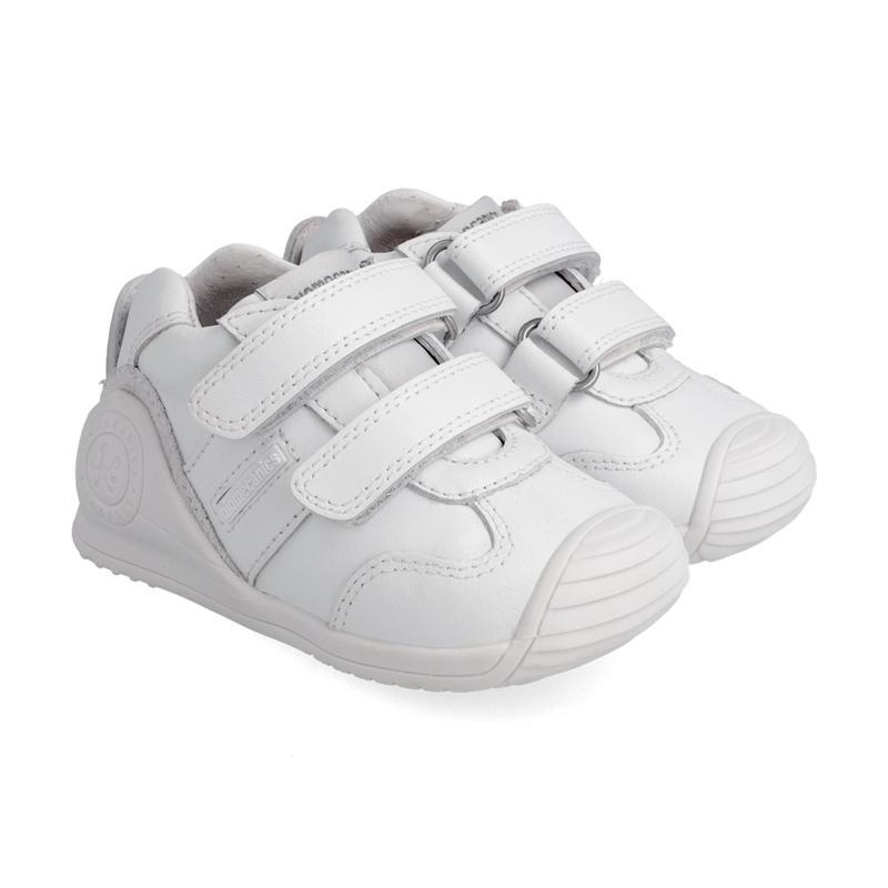Deportiva de bebe BIOMECANICS piel blanca unisex
