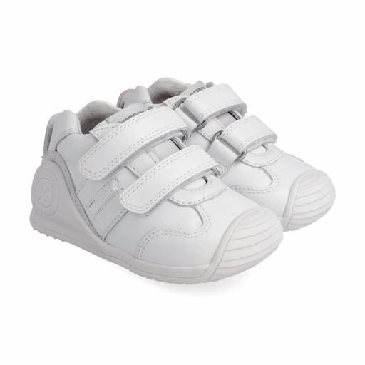 Deportiva de bebe BIOMECANICS piel blanca unisex [0]
