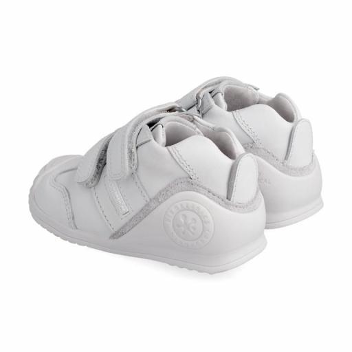 Deportiva de bebe BIOMECANICS piel blanca unisex [1]