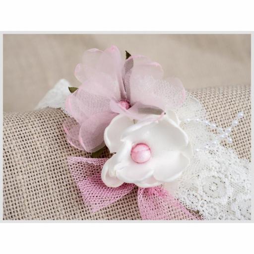 Diadema turbante bebe bautizo ZOYSAN flores 13389 [2]