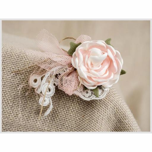 Tocadito mini para niñas de ceremonia ZOYSAN flor 18026