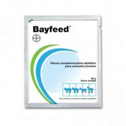 BAYFEED Polvo Oral 60 grms. 36 uds. (Aporte Energético-Electrolitos)
